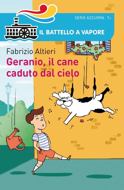 Geranio, il cane che cadde dal cielo